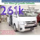 2014 Brand New Toyota Hiace GL Grandia Automatic 261k All In DP